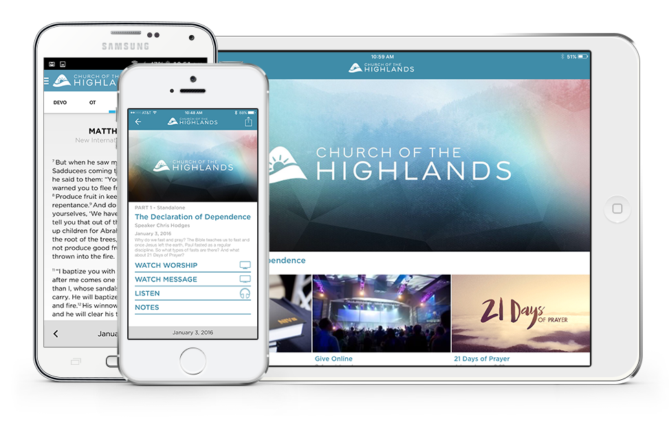Highlands Mobile Apps